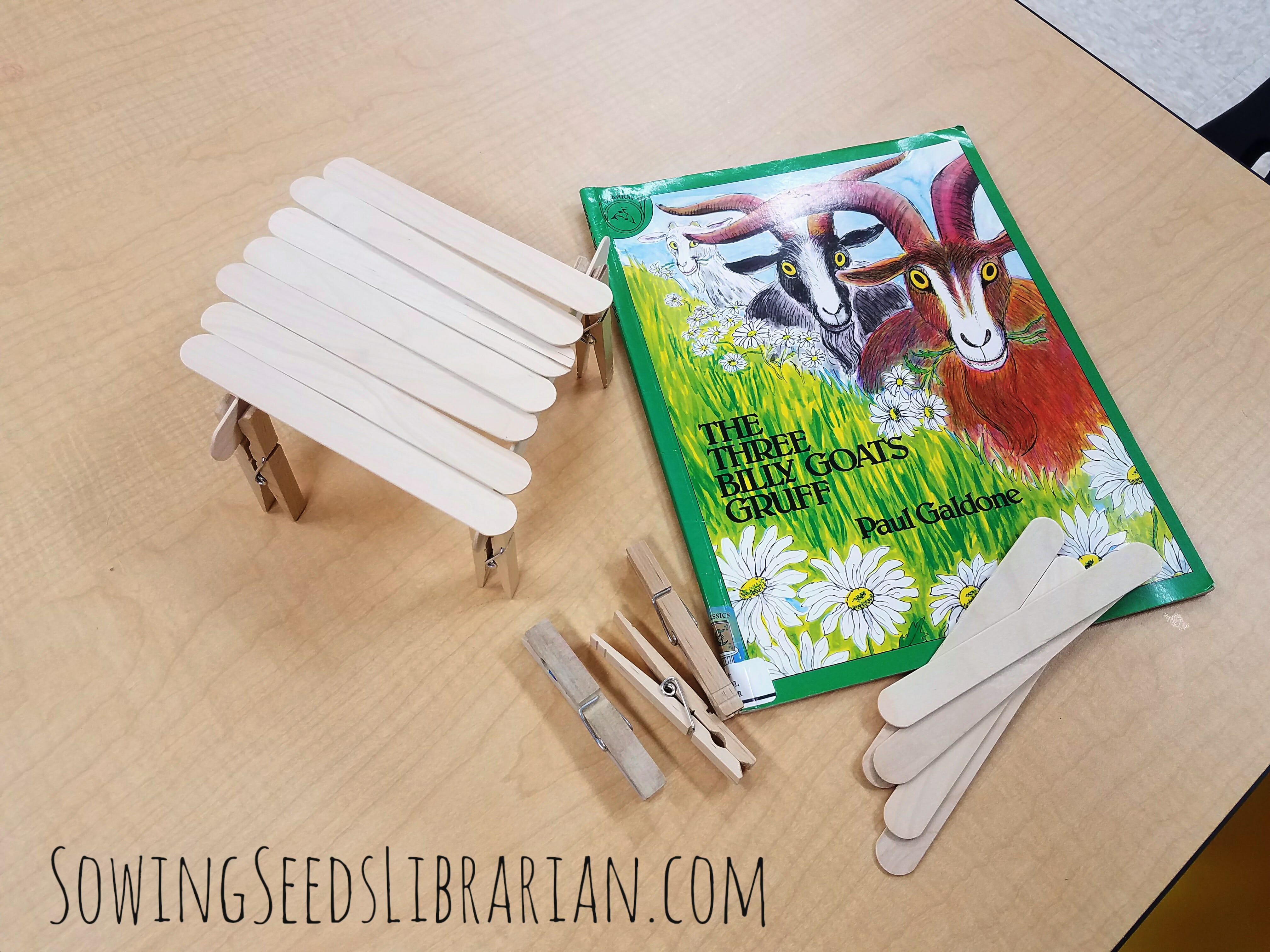 Billy Goats Gruff Art Ideas